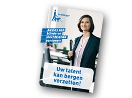 "Cover van de brochure ""Uw talent kan bergen verzetten"
