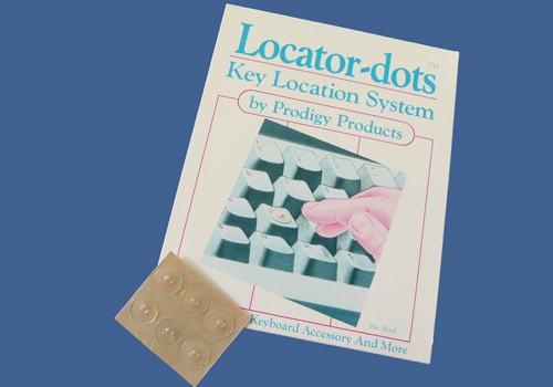 Locator-dots, des repères tactiles transparents (R1445).