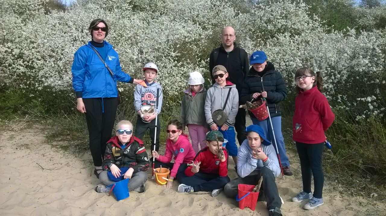 Photo du stage - Balade dans les dunes