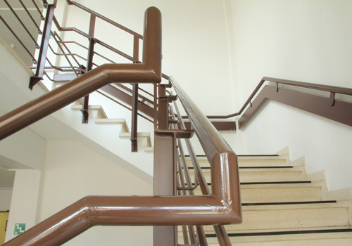 Photo de la balustrade