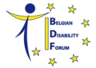 Logo du Belgian Disability Forum
