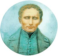 Portret van Louis Braille